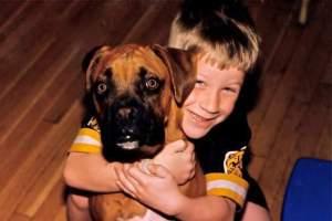 My son Kurt, age 7