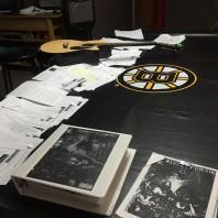 JPL Studying music
